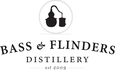Bass and Flinders Distillery Logo Logo