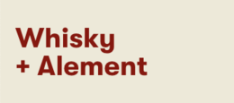 Whisky and Alement Logo Logo